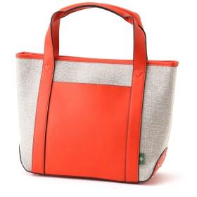 MACARONIC STYLE マカロニックスタイル A4対応 リネン風素材トートバッグ