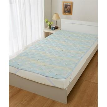 ピーターラビット(TM)の接触冷感 敷パッド 敷きパッド・ベッドパッド