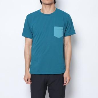 ザ ノース フェイス THE NORTH FACE メンズ トレッキング 半袖Tシャツ S/S Color Panel Tee NT31936