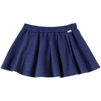 ミキハウス 【アウトレット】シンプル サーキュラースカート 紺