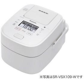【在庫目安:お取り寄せ】Panasonic  SR-VSX189-W スチーム&可変圧力IHジャー炊飯器 1.8L (ホワイト)