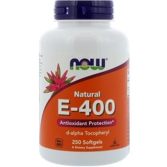 ナチュラル E-400、ソフトジェル 250粒