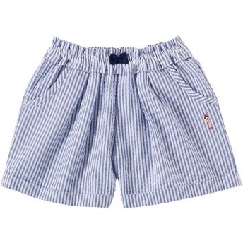ミキハウス 【アウトレット】ショートパンツ 紺×白