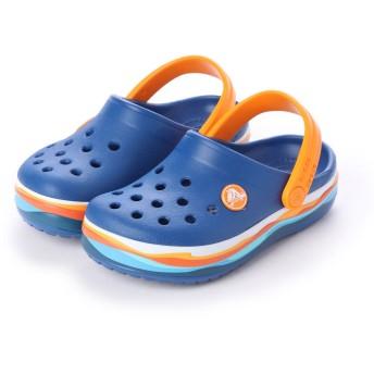クロックス crocs クロッグサンダル crocband wavy band clog kids 205697-4GX