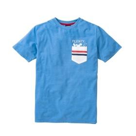 PLENTY TOUGH SPORT(プレンティタフスポーツ)カノコデザインポケット付半袖Tシャツ Tシャツ・カットソー