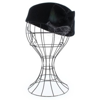 FRAUEN HUT / フラウエンハット レディース 帽子 色:黒 サイズ:F