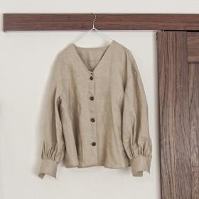 ◯ Big Sleeve Linen Shirt