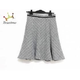 ジャスグリッティー JUSGLITTY スカート サイズ2 M レディース 美品 白×黒   スペシャル特価 20190817