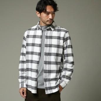 [マルイ]【セール】Mシャツ(【WEB限定】起毛チェックシャツ)/ザ ショップ ティーケー(メンズ)(THE SHOP TK Mens)