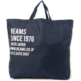 ビームス メン BEAMS / パラシュートクロス 2WAYトートバッグ メンズ NAVY - 【BEAMS MEN】