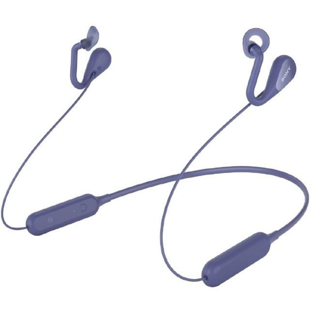 ブルートゥースイヤホン イヤーカフ SBH82D ブルー [リモコン・マイク対応 /ネックバンド /Bluetooth]