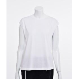 AURALEE 【AURALEE】シームレスノースリTシャツ WHITE 1