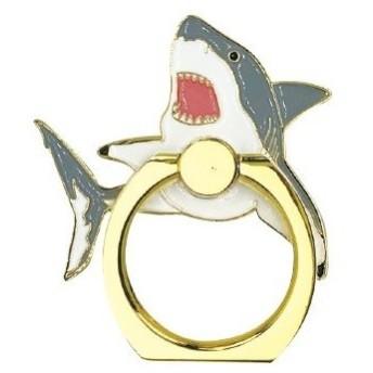 ワールド商事 アクアチック スマートフォンリング サメ