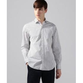 (TOMORROWLAND/トゥモローランド)ブリティッシュポプリン セミワイドカラーシャツ/メンズ 18ブラック系 送料無料