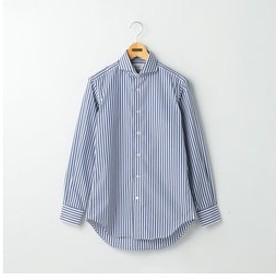 SALE開催中【NOLLEY'S:トップス】100/2 ノンプレスワイドカラーシャツ