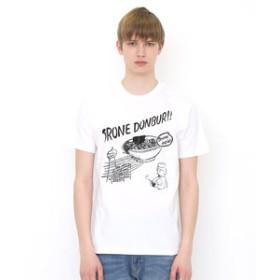 【グラニフ:トップス】グラニフ Tシャツ メンズ レディース 半袖 ドローンドンブリ
