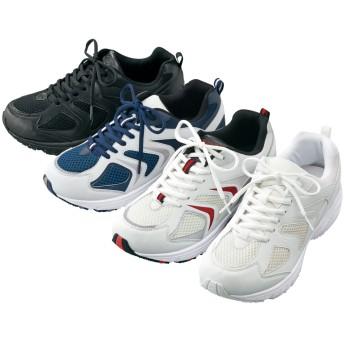 【格安-男性靴】メンズゆったり幅広3Eスポーツタイプスニーカー