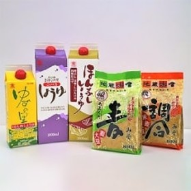 (株)高田商店&(有)地蔵味噌 詰め合わせセットA