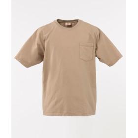【オンワード】 Field Dream Men(フィールド ドリーム メン) 【Goodwear】コットンビッグ Tシャツ ベージュ 5 メンズ 【送料無料】