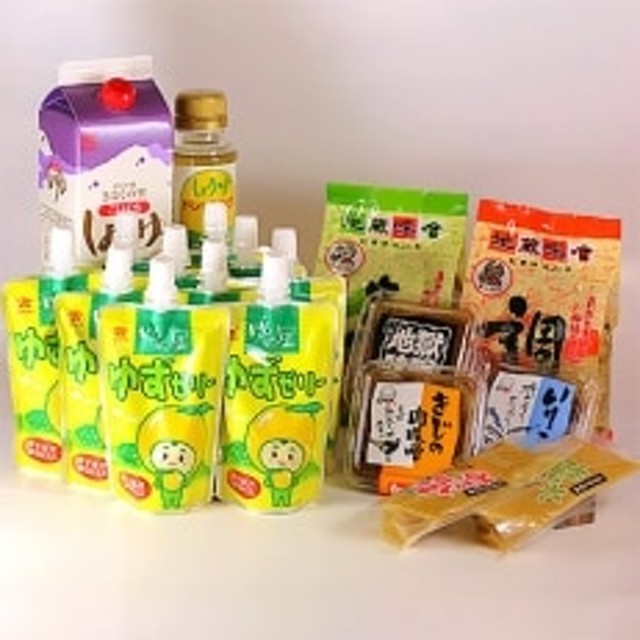(株)高田商店&(有)地蔵味噌 詰め合わせセットB