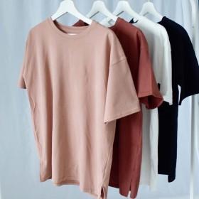 Tシャツ - argo-tokyo 【ME LOVE】クルーネックコットンビッグTシャツ/ビッグTシャツ/カットソー/半袖/tシャツ/Tシャツ