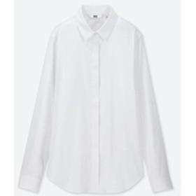 スーピマコットンストレッチフライフロントシャツ(長袖)