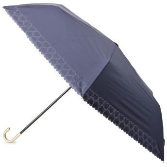 ITS' DEMO(イッツデモ) Wpc.ハートパンチング折りたたみ傘(晴雨兼用)