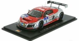 Audi R8 LMS 2016 1:43 24h Nürburgring 5021600331 Nr 2 Frijns Leonard Sandström