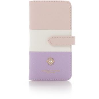 サマンサタバサプチチョイス フラワーモチーフシリーズ マルチカラーバージョン iPhoneXケース ピンク
