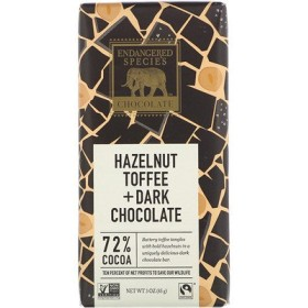 Hazelnut Toffee + Dark Chocolate, 3 oz (85 g)