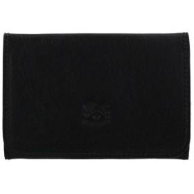 IL BISONTE イルビゾンテ カードケース メンズ レディース ブラック C0470-P 153 BLACK