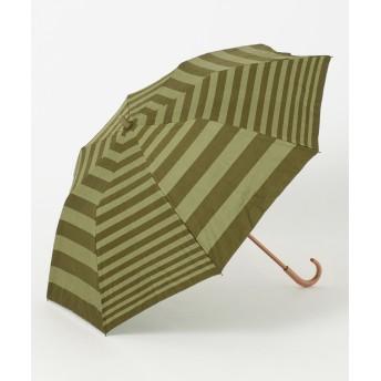 【オンワード】 MOONBAT(ムーンバット) Cocca 晴雨兼用 折りたたみ傘 ダークグリーン F レディース 【送料無料】