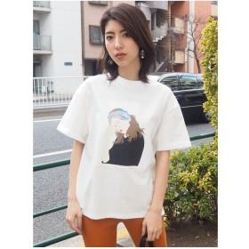 MURUA GirlルーズTシャツ(ホワイト)