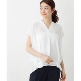 OPAQUE.CLIP(オペークドットクリップ) 【洗える・42(LL)WEB限定サイズ】サイドタックスキッパーシャツ