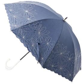 ITS' DEMO(イッツデモ) becauseマーガレット刺しゅう長傘(晴雨兼用)