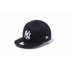 ニューエラ(NEW ERA) Kids My 1st 9FIFTY ニューヨーク・ヤンキース ブラック × ホワイト 11596306