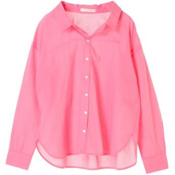 【オンワード】 Green Parks(グリーンパークス) ベーシックシャツ Pink F レディース 【送料無料】