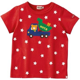 ミキハウス 【アウトレット】キャラクター半袖Tシャツ 赤