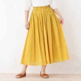 [マルイ]【セール】【洗える】インドコットンギャザースカート/サンカンシオン(レディス)(3can4on Ladies)