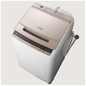 BW-V100E-N 全自動洗濯機 シャンパン [洗濯10.0kg /乾燥機能無 /上開き]