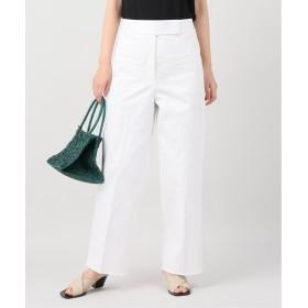 VERMEIL par iena プレミアムハイカウントポケットパンツ ホワイト 38