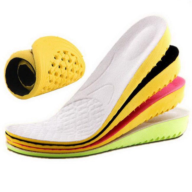 FOFU-鞋墊內增高鞋墊運動減震男女通用蜂窩透氣隱形全墊【09S2394】