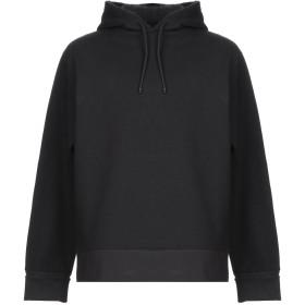 《期間限定セール開催中!》A_PLAN_APPLICATION メンズ スウェットシャツ ブラック XS コットン 100%