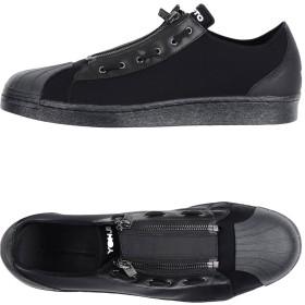 《セール開催中》Y-3 メンズ スニーカー&テニスシューズ(ローカット) ブラック 8 紡績繊維 / 革 / ゴム