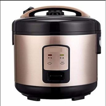 小さな炊飯器商業米炊飯器 5 L 4-5-6-7-8 人電気スロークッカー-ゴールデン(新品未使用の新古品)