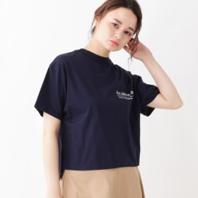 [マルイ]【セール】innowave プリントロゴ入りコットンTシャツ/グローブ(grove)