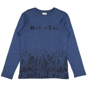 《期間限定セール中》HENRY COTTON'S ボーイズ 3-8 歳 T シャツ ブルー 3 コットン 65% / ポリエステル 35%