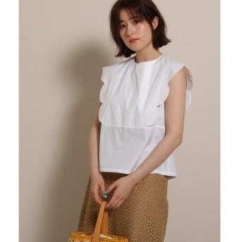 anatelier / アナトリエ haupia(ハウピア)スカラップシャツ