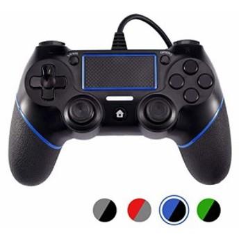 PS4有線コントローラー Astarry ゲームパッド DualShock 4、プレイステーション4用デュアルバイブレーションゲームパッドコントローラ