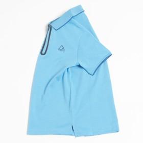ポロシャツ - GIORDANO 【G-MOTION】ハーフZIPポロシャツ